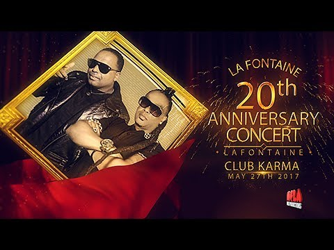 Lafontain 20th years Anniversary/Reunion Concert Advert