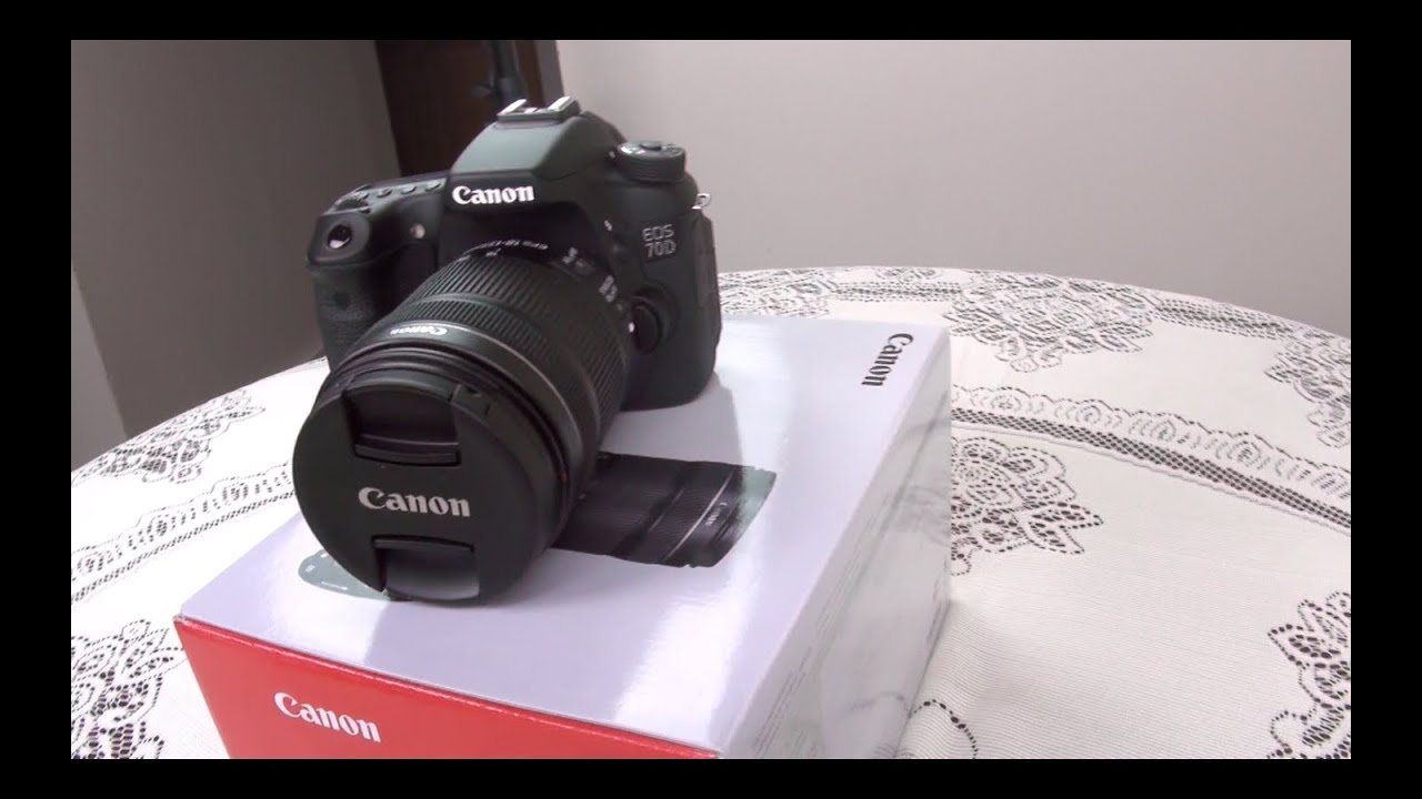 Unboxing Canon 70D with 18-135 IS STM