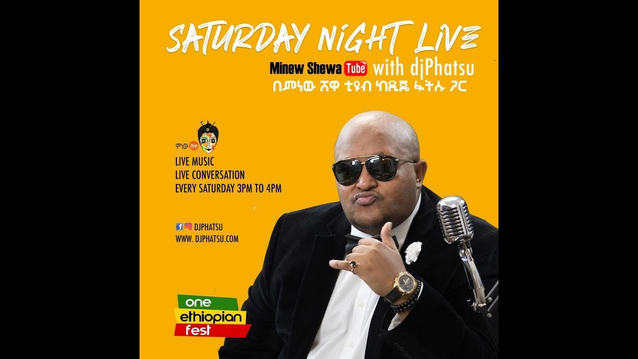 Minew Shewa Tube Live Stream with Djphatsu!
